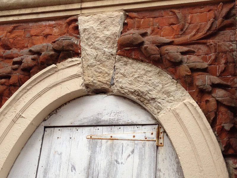 arched doorway refurbishment